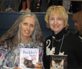 Ingrid King & Linda Mohr, Cat Writers' Conference 2009