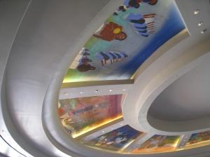 Southwest Ceiling Mural